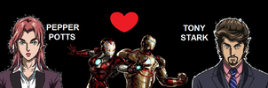 Iron Man and Rescue by 3D4D