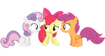 Cutie Mark Crusaders by Th33z