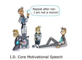 I.D CORE MOTIVATIONAL SPEECH by Weevmo