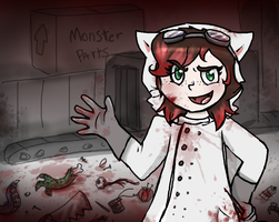 You Helped Make This Monster by Purrlstar