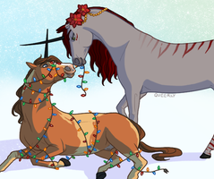 On The Fifth Day of Christmas by Queerly