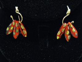not my usual style earrings by DPBJewelry
