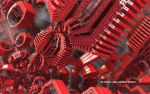 Synthetic Red Coral by eMBeeL