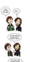 he puts up with a lot... by pixarjunkie