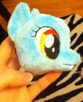 I'm Learning how to embroider plushie faces by VengefulSpirits