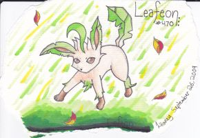 Leafeon by nesser33