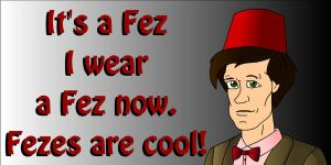 11th doctor's fez by CPD-91