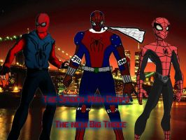 The Spider-Man Corps: the NEW Big three by AuraHero7