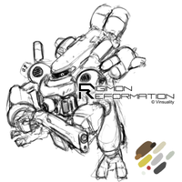 Digimon Reformation - Guardromon by Vinsuality