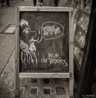 Without Books In London by OllieWie