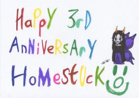 Homestuck - 3 years running! by Shinigami-Rem-san