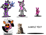 Fnaf Adventure Things by Fandomtrash198787