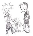 The Simpsons kids by Spaffi