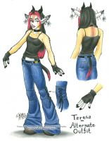 Teresa - alternate outfit by Horus-Goddess