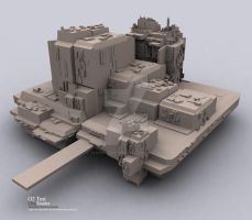 O2 Test ClayRender by Translucent-Image