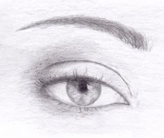 Eye - real. practice by Kruemi