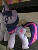 Princess Twilight Sparkle Plush on GalaCon 2015 by JusticeOfElements