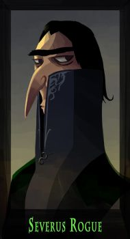 Snape by Slegare