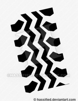 Tire Track Pattern by hassified