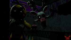 FNaF SFM: Plastic creatures by Mikol1987