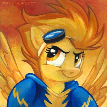 Square Series - Spitfire by SpainFischer