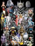 Got Robots? How Many Can You Name? by Captain86