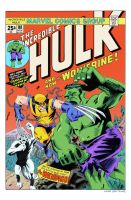 Incredible Hulk #181 by kylehaase