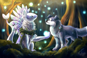 Forest - Commission by GralMaka