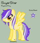 MLP - SugarStar Reference Sheet by porcelian-doll