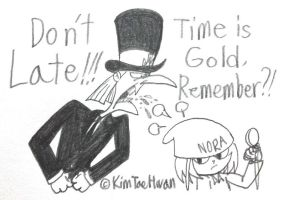 His Time Strict by komi114