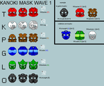 WAVE 1 Masks by phillipPbor