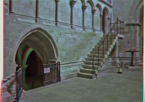 Cathedral of Naumburg 3D by zour