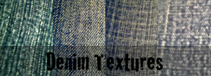 Denim Textures by YvelleDesignEye