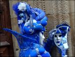 Blue duchess her beauty and the half moon mirror by Cloudwhisperer67