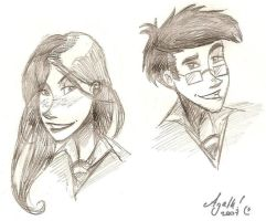 Lily and James by Agatha-Macpie