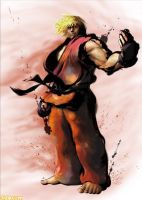 street fighter ken by batguyz