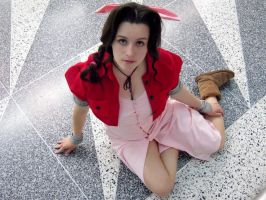Preview Aerith Gainsborough Cosplay by CosplayInABox