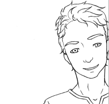 Scott Mccall Lineart by Akra-Cat