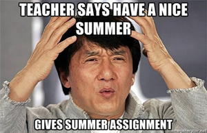 Summer Assignments by Nosh59