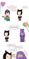 LoL: Spiderling Vs. Voidling by jellyfish-senpai