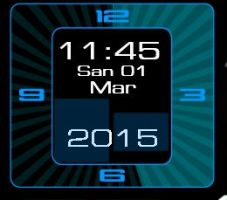 Square-Big-Blue-Animated-Clock 2-1-4 by xordes