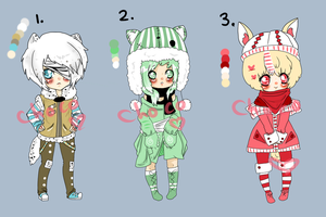 1 left Winter Adopts (OPEN) by ChocoRevolution