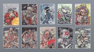 Random sketchcards by ZipDraw
