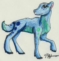 Art Trade: Auronia by ShadowhawkArt