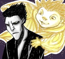 The Boogeyman and The Sandman by pistol-paintbrush493