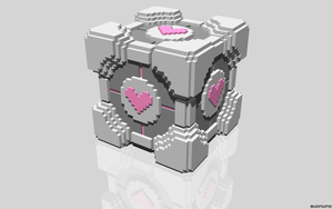 Companion Cube by NES--still-the-best