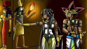 Yugioh:Egyptian Priestess by KiaCookie