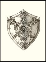 medieval shield by AmurgAprins