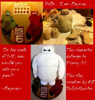 Clay Masterpiece of Baymax by InkArtWriter