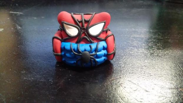 Spiderman Owl Figure by TheOwlsRoost